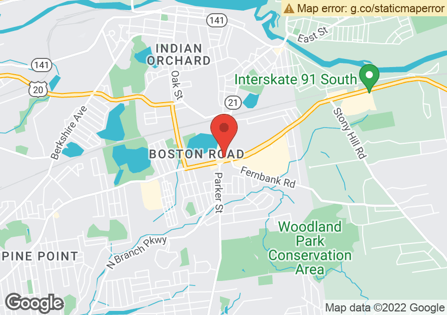 Google Map of 1440 BOSTON RD