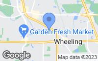 Map of Wheeling, IL