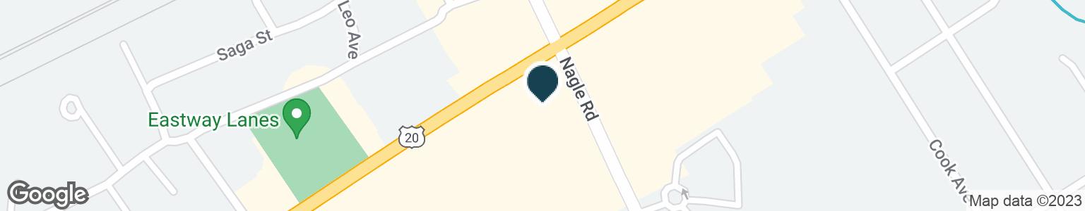 Google Map of4309 BUFFALO RD