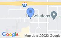 Map of Wilmette, IL