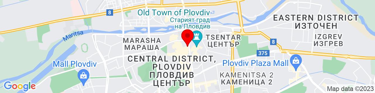 Google Map of 42.15, 24.75