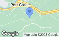 Map of Port Crane, NY