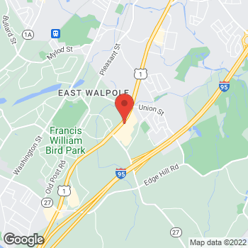 Map of Sprint at 110 Providence Hwy, East Walpole, MA 02032