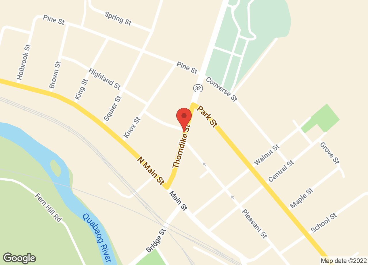 Google Map of VCA Palmer Animal Hospital