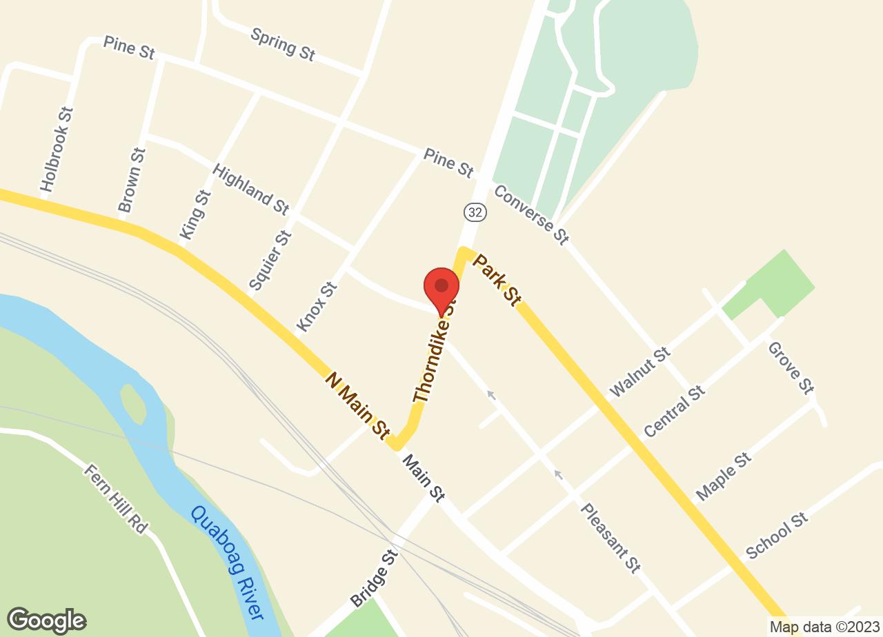 Google Map of VCA Palmer Animal Hospital