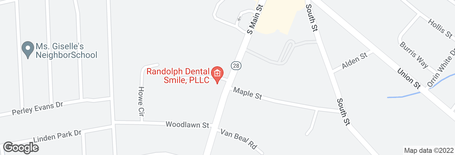 Map of S Main St @ Elgin Court and surrounding area