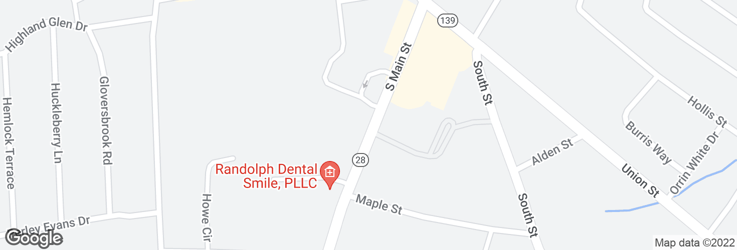 Map of Opp 32 S Main St and surrounding area