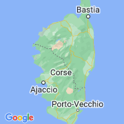 Le thème La Corse sur notre carte histoire-géo