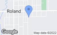 Map of Roland, IA