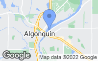 Map of Algonquin, IL