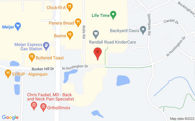 static image of 2200 North Huntington Drive, Algonquin, Illinois