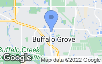 Map of Buffalo Grove, IL