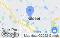 Map of Kildeer, IL