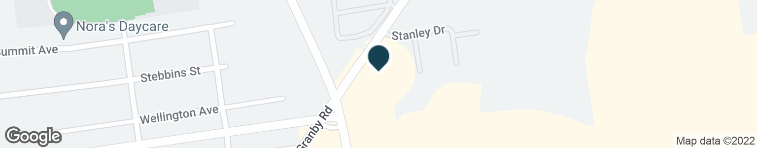 Google Map of1195 GRANBY RD