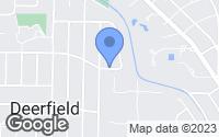 Map of Deerfield, IL