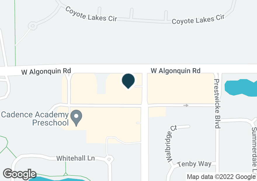 Google Map of4001 W ALGONQUIN RD