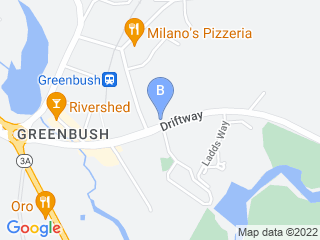 Map of All Four Paws Dog Boarding options in Scituate | Boarding