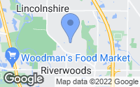 Map of Riverwoods, IL