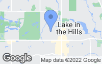 Map of Lake in the Hills, IL
