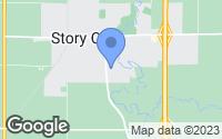Map of Story City, IA