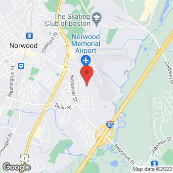 Map of Karen Fisher, NP at 77 Access Road, Norwood, MA 02062