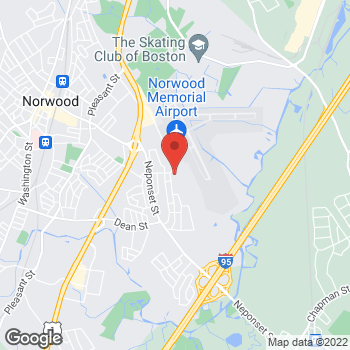 Map of Kristen Upchurch, MD at 77 Access Road, Norwood, MA 02062