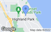 Map of Highland Park, IL