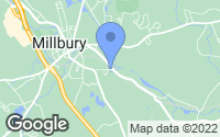 Map of Millbury, MA
