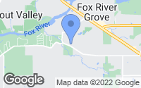 Map of Fox River Grove, IL