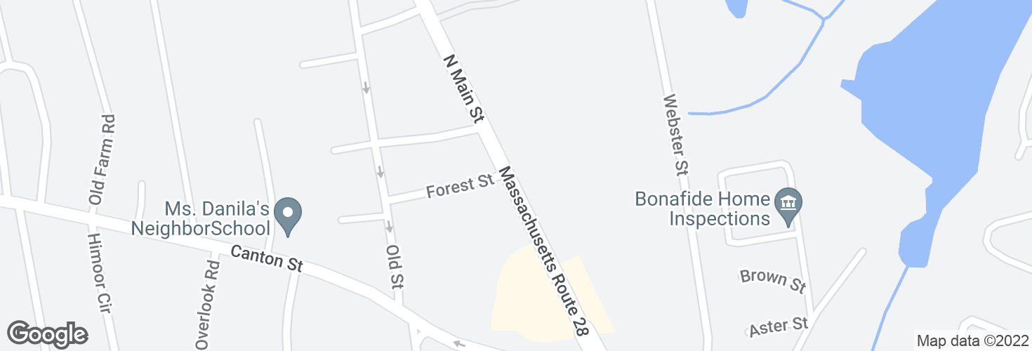 Map of 901 N Main St and surrounding area