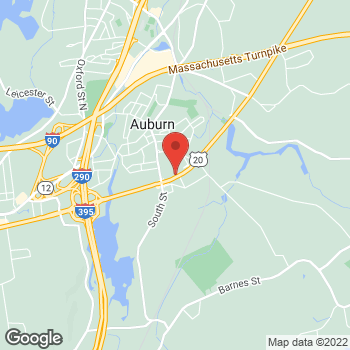 Map of Wayne Marchand, DPM at 492 Washington Street, Auburn, MA 01501