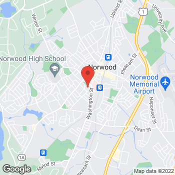 Map of Peter Mebel, MD at 825 Washington Streetsuite 260, Norwood, MA 02062