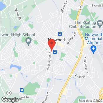 Map of Margaret Goodman, MD at 800 Washington Street, Norwood, MA 02062