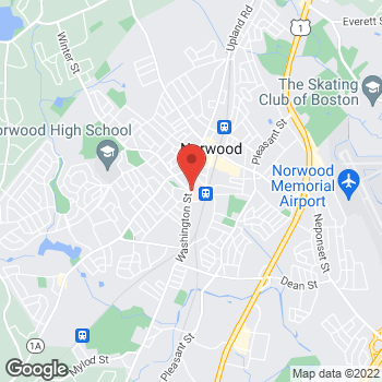 Map of Margarita Ebril-Lel, MD at 800 Washington Street, Norwood, MA 02062