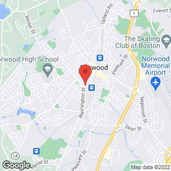 Map of Diana Rodriguez, MD at 800 Washington Street, Norwood, MA 02062