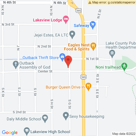 Senior Services - Lake County Community Center @ Lakeview - Location Map