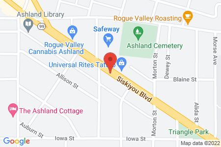 static image of600 Siskiyou Blvd, Ashland, Oregon