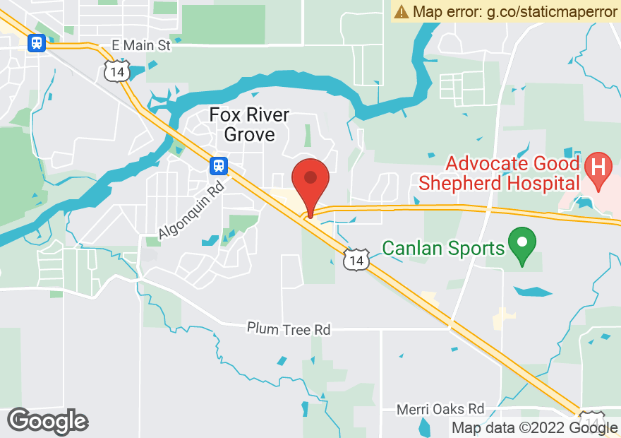 Google Map of 900 NORTHWEST HWY