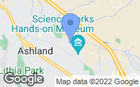 Map of Ashland, OR