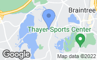 Map of Braintree, MA