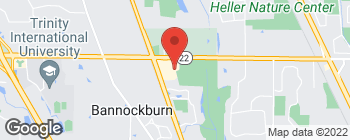 Map of 2509 Waukegan Rd in Bannockburn