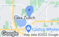 Map of Lake Zurich, IL