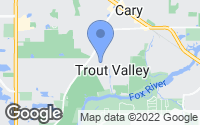 Map of Trout Valley, IL
