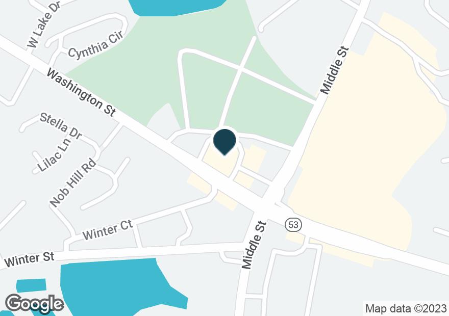 Google Map of750 WASHINGTON ST
