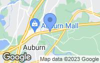 Map of Auburn, MA