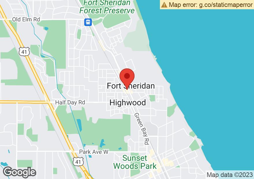 Google Map of 320 WAUKEGAN AVE