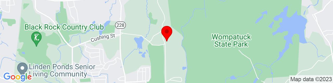 Google Map of 42.2034662, -70.8686275