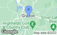 Map of Grafton, MA