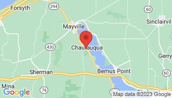 Map of Chautauqua