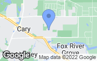 Map of Cary, IL